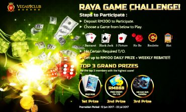 Raya Game Challenge! – Vegas9club