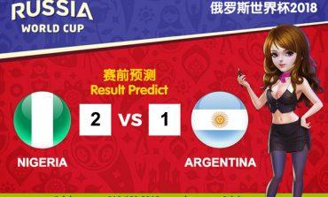 WORLD CUP PREDICT: NIGERIA VS ARGENTINA